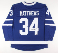 Auston Matthews Signed Maple Leafs Fanatics Jersey (Fanatics Hologram) at PristineAuction.com