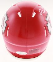 Patrick Mahomes Signed Kansas City Chiefs Speed Mini Helmet (JSA COA) at PristineAuction.com