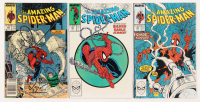 "Consecutive Lot of (3) 1988 ""The Amazing Spider-Man"" Marvel Comic Books with #301-#303 at PristineAuction.com"