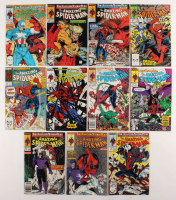 "Consecutive Lot of (11) 1989 ""The Amazing Spider-Man"" Marvel Comic Books with #317-#327 at PristineAuction.com"