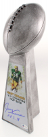 """Jerry Kramer Signed - Packers - Large Lombardi Trophy Inscribed """"HOF 18"""" (Beckett COA) at PristineAuction.com"""