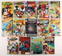"Consecutive Lot of (14) 1992-93 ""The Amazing Spider-Man"" Marvel Comic Books with #362-#375 at PristineAuction.com"