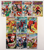 "Consecutive Lot of (10) 1990-91 ""The Amazing Spider-Man"" Marvel Comic Books with #338-#347 at PristineAuction.com"