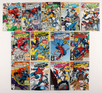 "Consecutive Lot of (13) 1991-92 ""The Amazing Spider-Man"" Marvel Comic Books with #348-#360 at PristineAuction.com"
