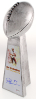 Joe Theismann Signed - Redskins - Large Lombardi Trophy (Beckett COA) at PristineAuction.com