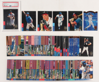 Lot of (310) Baseball Cards with Complete Set of (290) 1993 SP Baseball Cards & (20) 1993 SP Platinum Power with #PP9 Ken Griffey Jr., #280 Chipper Jones FOIL, #279 Derek Jeter FOIL RC (PSA 6) at PristineAuction.com