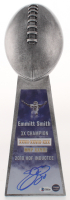 Emmitt Smith - Cowboys - Signed Large Lombardi Trophy (PROVA COA & Beckett COA) at PristineAuction.com