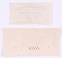 Lot of (2) Confederate States of America Richmond CSA Bank Note Bonds with 1864 $30 Thirty-Dollar Bond & 1861 $20 Twenty-Dollar Bond at PristineAuction.com