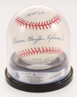 Harmon Clayton Killebrew Signed OAL Baseball  with (5) Career Stat Inscriptions (Beckett Encapsulated & PSA Hologram) at PristineAuction.com