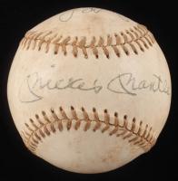 Mickey Mantle & Jack Brohamer Signed OAL Baseball (Beckett LOA) at PristineAuction.com