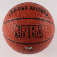 "Wilt Chamberlain Signed NBA Game Ball Basketball Inscribed ""Peace"" (Beckett LOA) at PristineAuction.com"