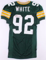 Reggie White Twice-Signed Green Bay Packers Jersey (Beckett LOA) at PristineAuction.com