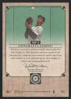 2007 UD Masterpieces 5x7 Box Topper Signatures #MP2 Ken Griffey Jr. at PristineAuction.com
