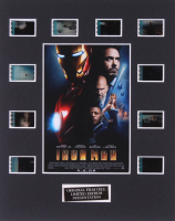 """""""Iron Man"""" LE 8x10 Custom Matted Original Film / Movie Cell Display at PristineAuction.com"""