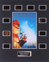 """""""The Lion King"""" LE 8x10 Custom Matted Original Film / Movie Cell Display at PristineAuction.com"""