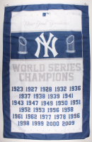 New York Yankees 36x60 World Series Champions Flag at PristineAuction.com