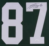 Jordy Nelson Signed 35x43 Custom Framed Jersey (JSA COA) at PristineAuction.com