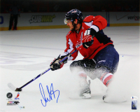 Alexander Ovechkin Signed Capitals 16x20 Photo (Beckett COA & Fanatics Hologram) at PristineAuction.com