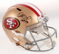 Dante Pettis Signed San Francisco 49ers Full-Size Speed Helmet (Beckett COA) at PristineAuction.com