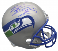 """Brian Bosworth Signed Seahawks Throwback Full-Size Helmet Inscribed """"The Boz"""" (Beckett COA) at PristineAuction.com"""