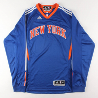 Carmelo Anthony Game-Used New York Knicks Shooting Shirt (Steiner LOA) at PristineAuction.com