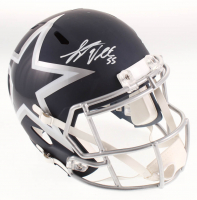 Leighton Vander Esch Signed Dallas Cowboys Full-Size AMP Alternate Speed Helmet (Beckett COA) at PristineAuction.com