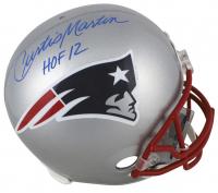 "Curtis Martin Signed New England Patriots Full-Size Helmet Inscribed ""HOF 12"" (Beckett COA) at PristineAuction.com"