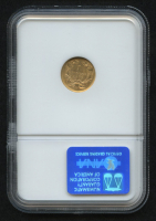 1856 $1 Indian Princess Gold Coin (NGC MS 61) at PristineAuction.com