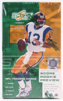 2000 Score Football Cards Unopened Hobby Box with (36) Packs at PristineAuction.com