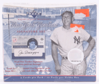 2003 Upper Deck New York Yankees Pride of New York Signature Series Baseball Hobby Box with (10) Packs at PristineAuction.com
