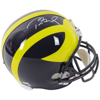 Tom Brady Signed Michigan Wolverines Full-Size Helmet (TriStar Hologram & Steiner Hologram) at PristineAuction.com