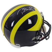 Tom Brady Signed Michigan Wolverines Full-Size Helmet (TriStar Hologram & Steiner Hologram) at PristineAuction.com