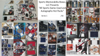 All Sports Game Used and Autographed Card Hot Pack! 10 or more Relic or Autographed Cards, each pack contains at least 4 All-Stars (Series 1) at PristineAuction.com