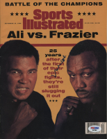 Muhammad Ali Signed Sports Illustrated Magazine (PSA COA) at PristineAuction.com