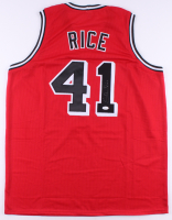 Glen Rice Signed Jersey (JSA COA) at PristineAuction.com