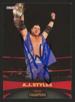 AJ Styles Signed 2009 TRISTAR TNA Impact #76 (JSA COA) at PristineAuction.com