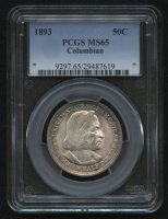 1893 50¢ Columbian Half Dollar (PCGS MS 65) at PristineAuction.com