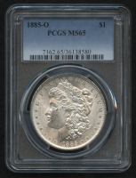 1885-O $1 Morgan Silver Dollar (PCGS MS 65) at PristineAuction.com