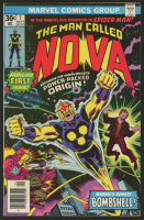 "1976 ""Nova"" #1 Marvel Comic Book at PristineAuction.com"