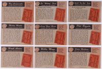 Complete Set of (320) 1955 Bowman Baseball Cards with #179 Aaron, #184 Mays, #202 Mantle & All (6) Variations at PristineAuction.com