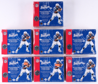 Lot of (7) 2003 Upper Deck Pros & Prospects Football Unopened Hobby Box with (24) Packs at PristineAuction.com