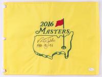 "Nick Faldo Signed Masters Golf Pin Flag Inscribed ""1989, 90, 96"" (JSA COA) at PristineAuction.com"