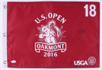 Sergio Garcia Signed 2016 Oakmont U.S. Open Golf Pin Flag (JSA COA) at PristineAuction.com