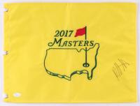 Bubba Watson Signed 2017 Masters Tournament Pin Flag (JSA COA) at PristineAuction.com