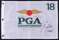 "Jimmy Walker Signed 2016 Baltusrol PGA Championship Pin Flag Inscribed ""CHAMP"" (JSA COA) at PristineAuction.com"