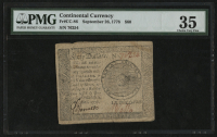 1778 Continental Currency $60 Sixty Dollars - Revolutionary War Era Currency (PMG 35) at PristineAuction.com