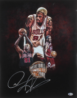 Dennis Rodman Signed Chicago Bulls 16x20 Photo (Beckett COA) at PristineAuction.com