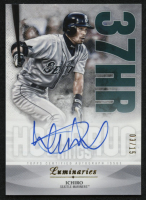 2019 Topps Luminaries Home Run Kings Autographs #HRKI Ichiro #3/15 at PristineAuction.com