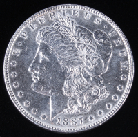 1887 Morgan Silver Dollar at PristineAuction.com