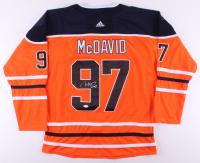 Connor McDavid Signed Edmonton Oilers Captain Jersey (JSA LOA) at PristineAuction.com